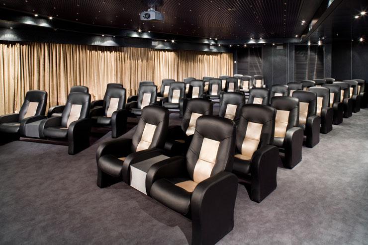 Kino Vorfuehrraum