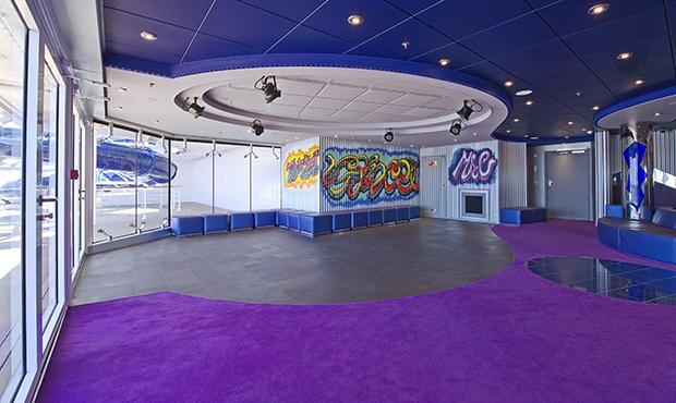 Graffitis Teen Bereich