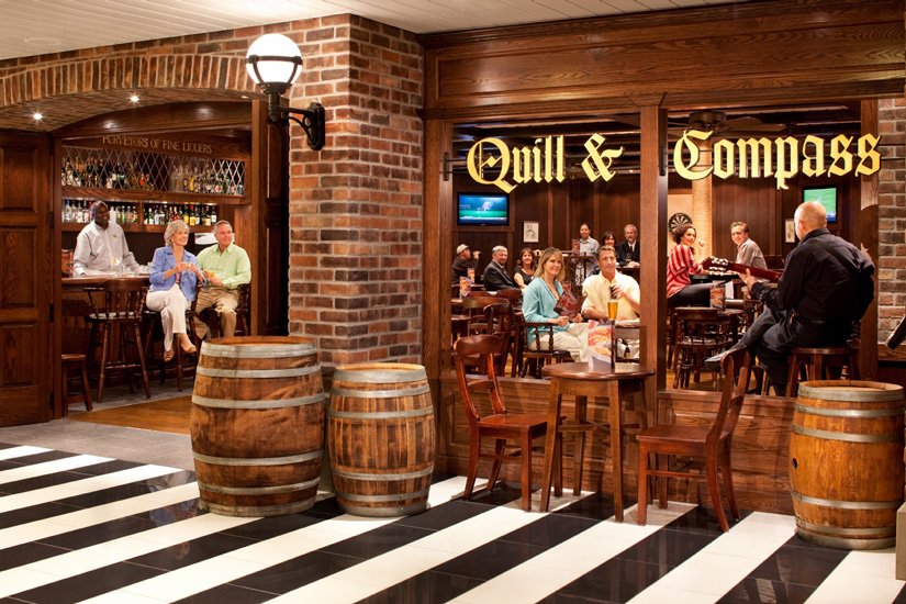 Quill and Compass Pub
