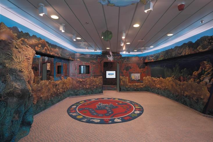 Adventure Ocean Spielzimmer Lagune