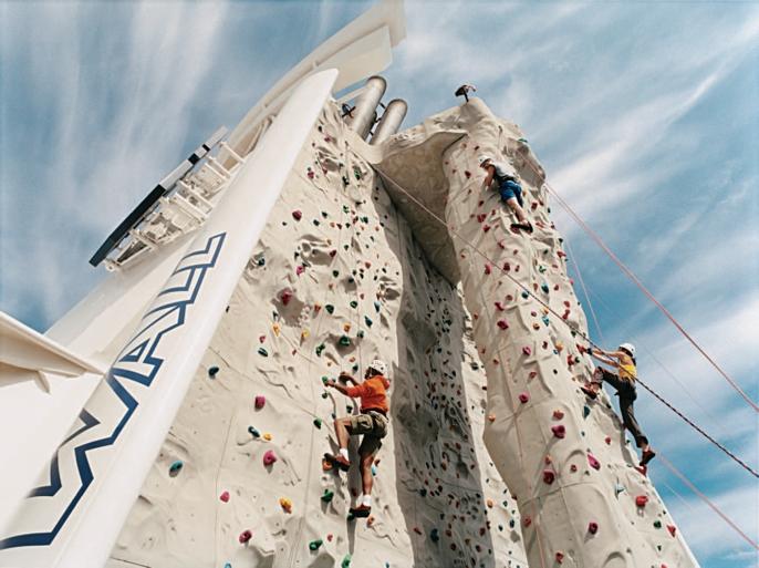 Kletterwand