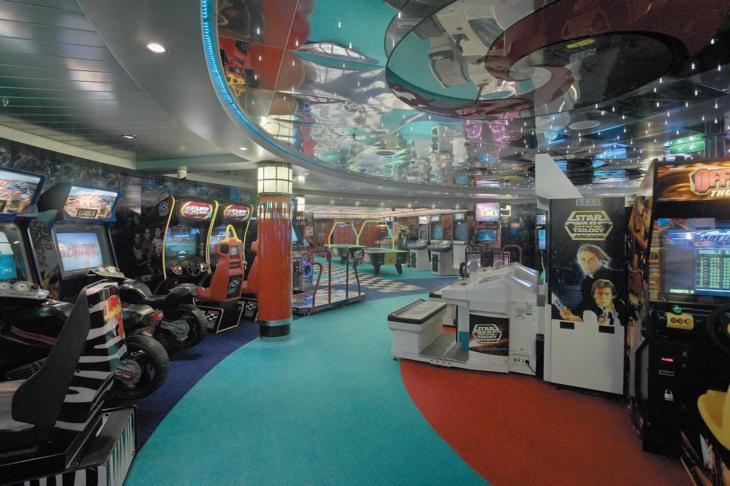 Arcade Videospiel Area