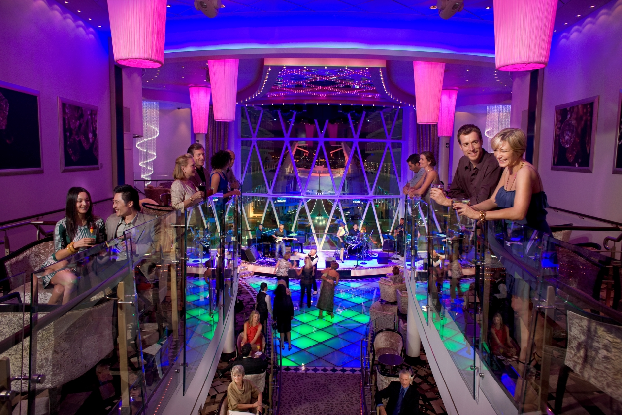 Nightclub Dazzles