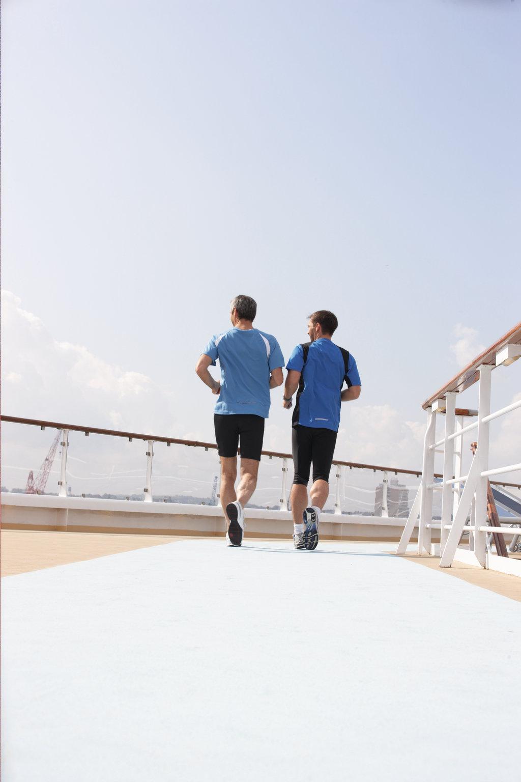 Joggingbereich